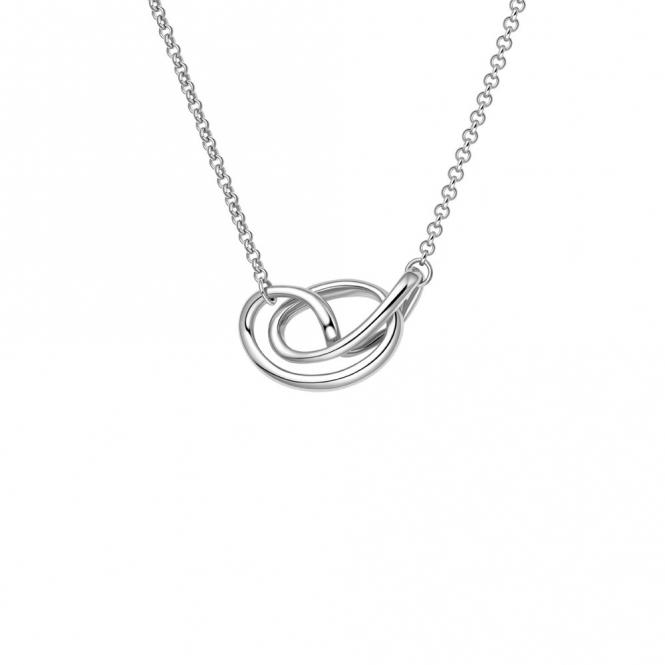 Sterling Silver Rhodium Serenity Pendant