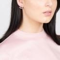 Sterling Silver Robyn Ear Jackets in Lavender