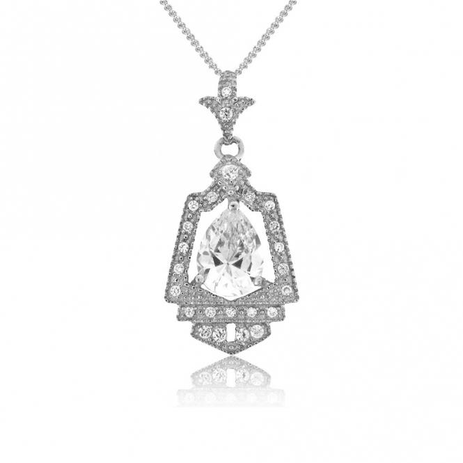 Sterling Silver Royal Crest Pendant