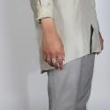 Sterling Silver Royal Shield Ring
