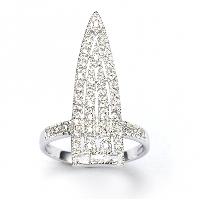 Sterling Silver Royal Sword Ring