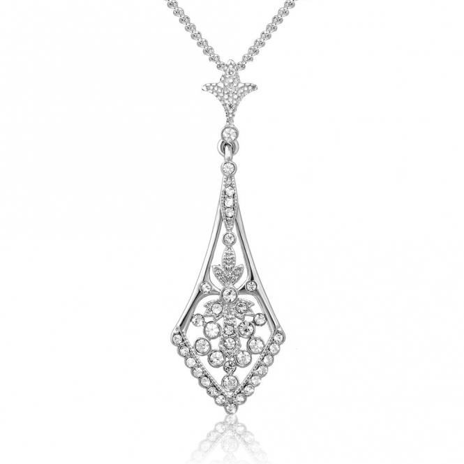 Sterling Silver Royal Victoria Pendant