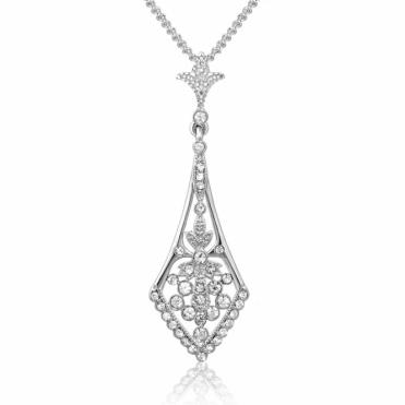 Sterling Silver Royal Victoria Pendant