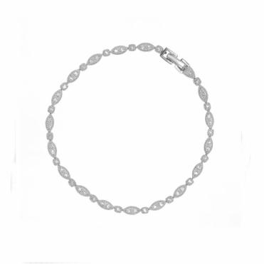 Sterling Silver Simplicity Fine Bracelet