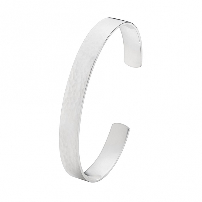 Sterling Silver Smithy Bangle