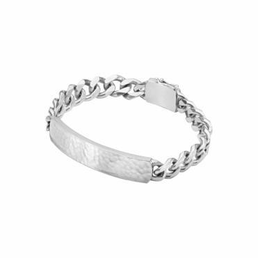 Sterling Silver Smithy Men's Bracelet