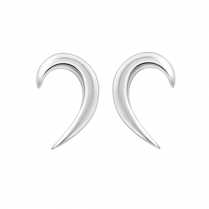 Sterling Silver Snowdrop Earrings