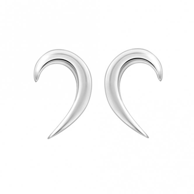 Sterling Silver Snowdrop Earrings