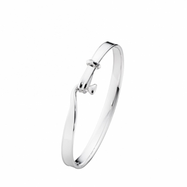 Sterling Silver Torun Child's Bangle