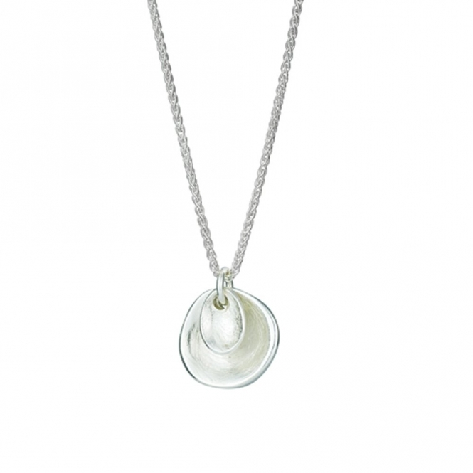 Sterling Silver Touch Tactile Necklace