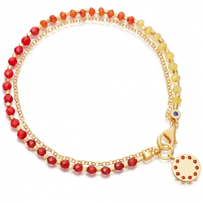 Sunset Degrade Biography Bracelet