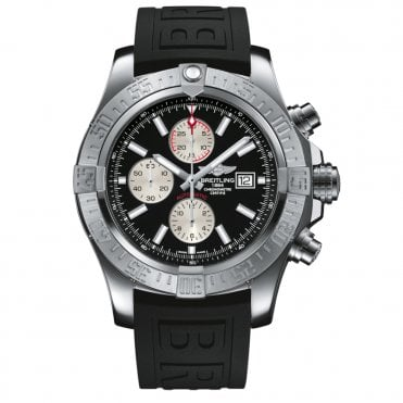 Super Avenger II Automatic Chronograph with Black Dial