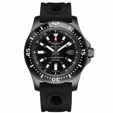 Superocean 44mm Special Blacksteel with Ceramic Bezel