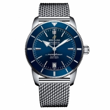 Superocean Heritage II 42 Automatic Chronometer Gun Blue