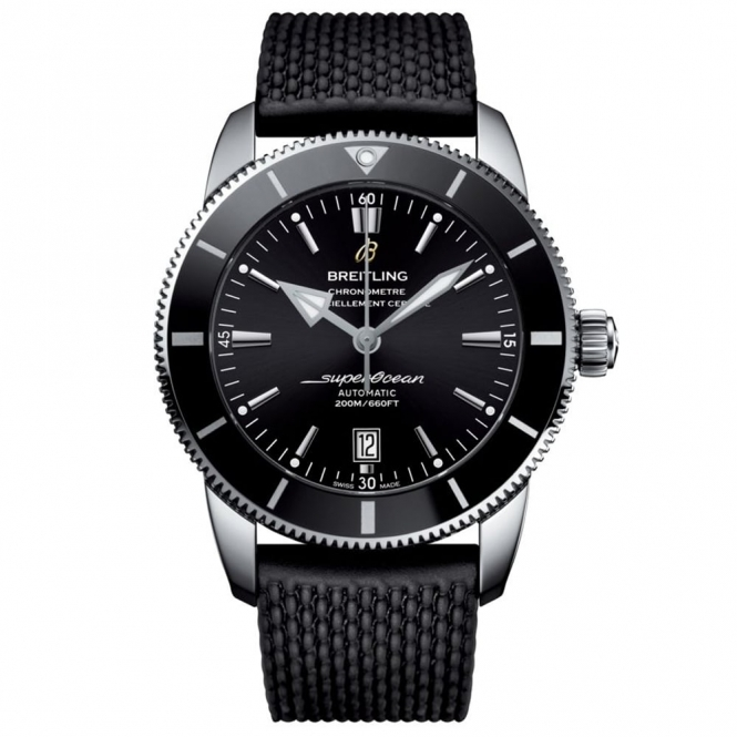 Superocean Heritage II 46 Automatic Chronometer Black
