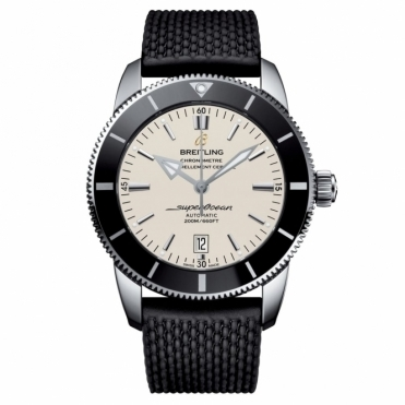 Superocean Heritage II 46 Chronometer with Silver Dial