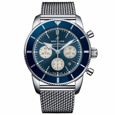 Superocean Heritage II B01 Chronograph 44mm Blue