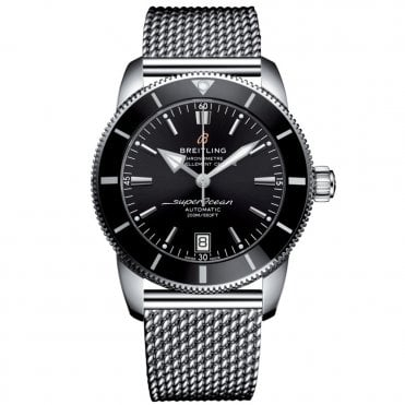 Superocean Heritage II B20 Automatic 42mm in Volcano Black