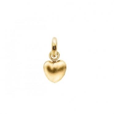 Sweet Drop 18ct Yellow Gold Textured Heart