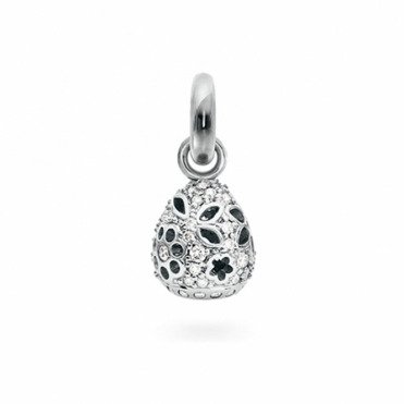 Sweet Drop in 18ct white gold Lace with 58 diamonds 0.58ct total