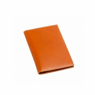 Tan Leather Credit Card Holder