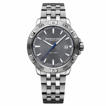 Tango Gents 41mm Quartz Watch with Grey Dial