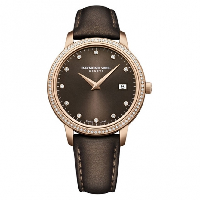Toccata Special Edition Nicola Benedetti ladies quartz watch in rose gold PVD