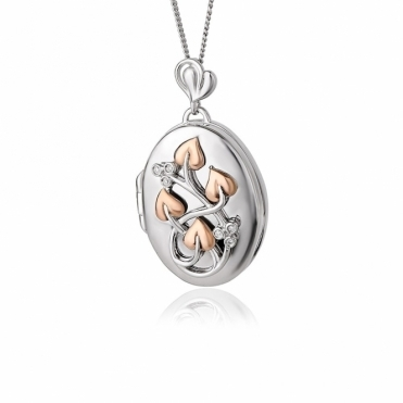 Tree of Life Diamond Locket