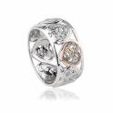 Tree of Life One Diamond Ring
