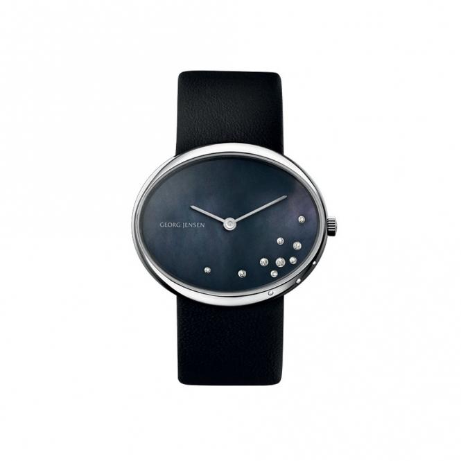 Vivianna Oval 423 Las Quartz Watch With Diamond Dial And 2 Straps 3575337