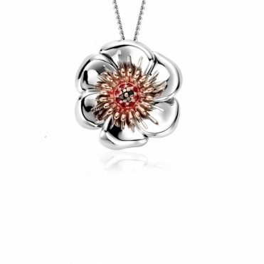 Welsh Poppy Pendant