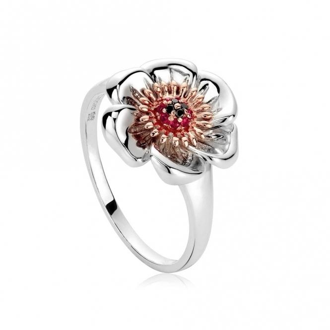 Welsh Poppy Ring